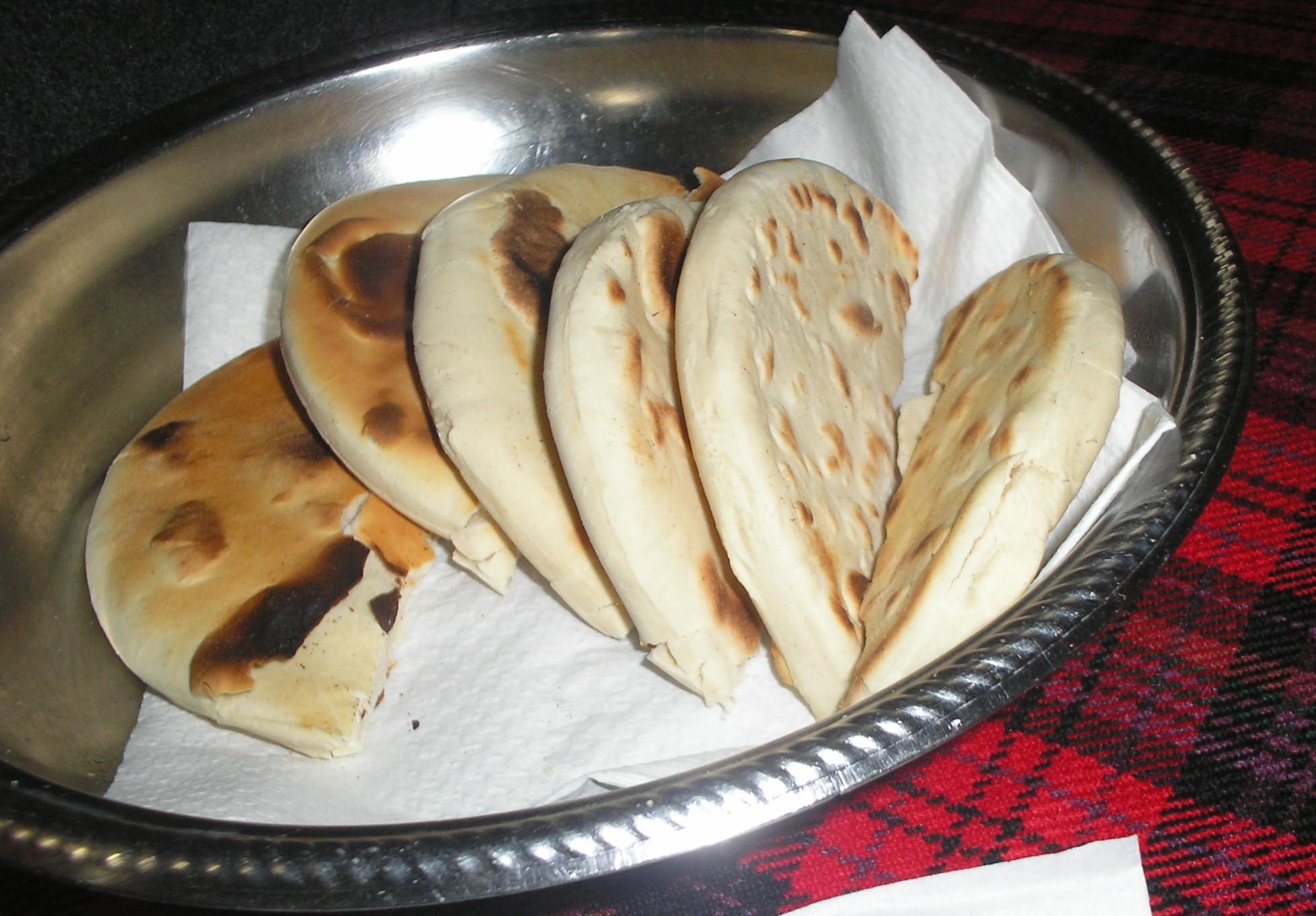 arepa de trigo