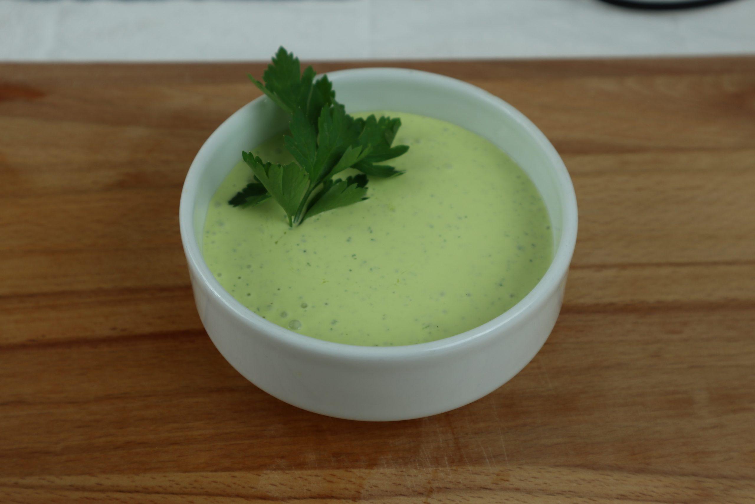 salsa de ajo y perejil
